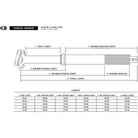 Crankbrothers Highline 3 Tige de selle télescopique Ø30,9mm, black